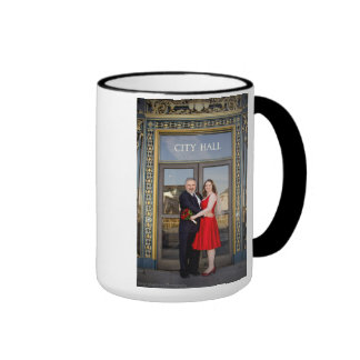 Michele & Joseph wedding mug