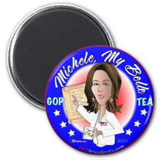 Michele, My Belle 6 Cm Round Magnet