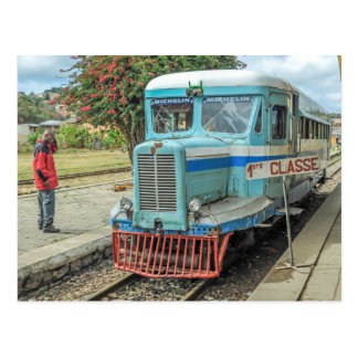 Michelin Railbus MZ 516 - Madagascar Postcard