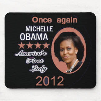 Michelle 2012 mouse pad