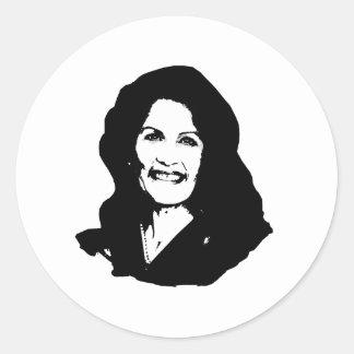 Michelle Bachman Round Sticker