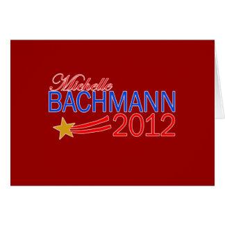 Michelle Bachmann 2012 Campaign Gear Greeting Card