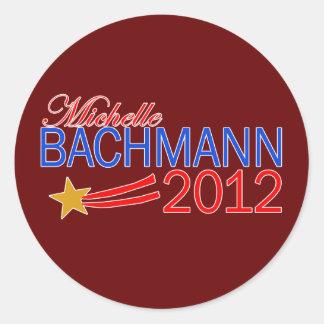 Michelle Bachmann 2012 Campaign Gear Round Stickers