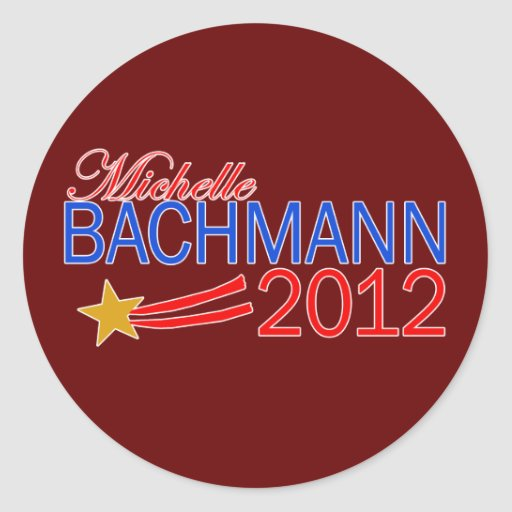 Michelle Bachmann 2012 Campaign Gear Round Stickers