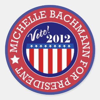 Michelle Bachmann for President 2012 Sticker