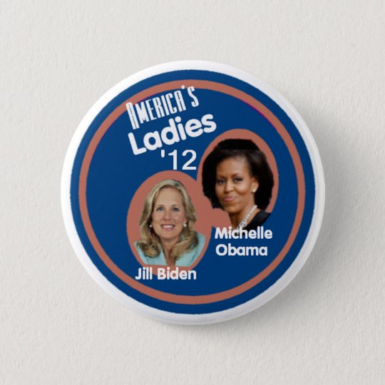 MICHELLE JILL 6 CM ROUND BADGE