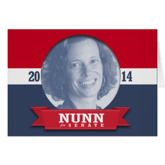 MICHELLE NUNN CAMPAIGN GREETING CARDS