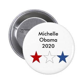 Michelle Obama 2020 Presidential Button