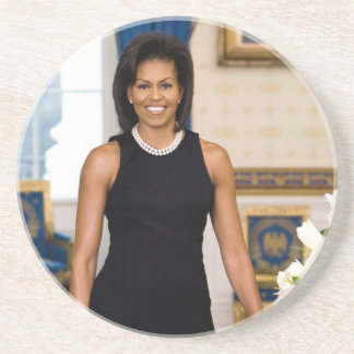 Michelle Obama Drink Coaster