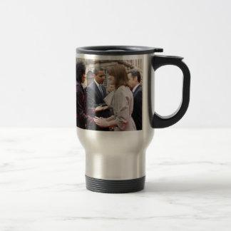 MICHELLE OBAMA EIGHT-DAY EUROPEAN TOUR COFFEE MUG