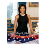 Michelle Obama, First Lady of the U.S. Post Card