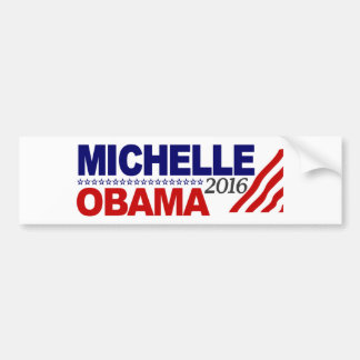 Michelle Obama For President 2016 Bumper Sticker