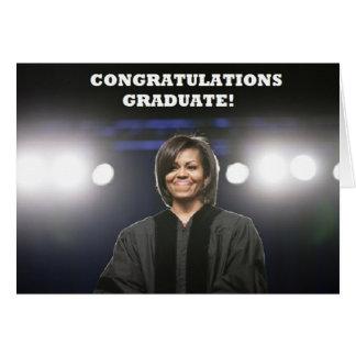Michelle Obama-Graduation Card