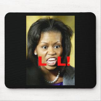 Michelle Obama LOL Mousepads