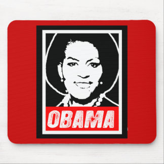MICHELLE OBAMA MOUSE PAD