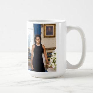 Michelle Obama Mug Basic White Mug