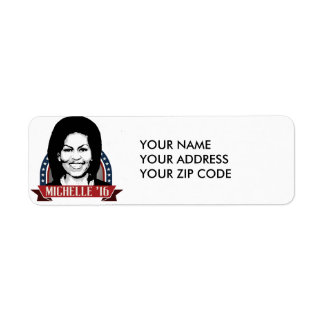 MICHELLE OBAMA TO RUN IN 2016 -.png Return Address Label