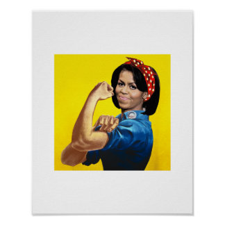 MICHELLE THE RIVETER.png Poster