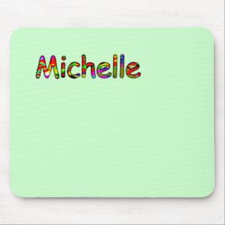 Michelle's mouse pad
