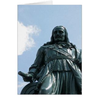 Michiel Adriaanszn de Ruyter Statue Photo Card