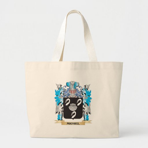 Michiel Coat of Arms - Family Crest Tote Bags