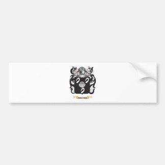 Michiel Coat of Arms (Family Crest) Bumper Stickers