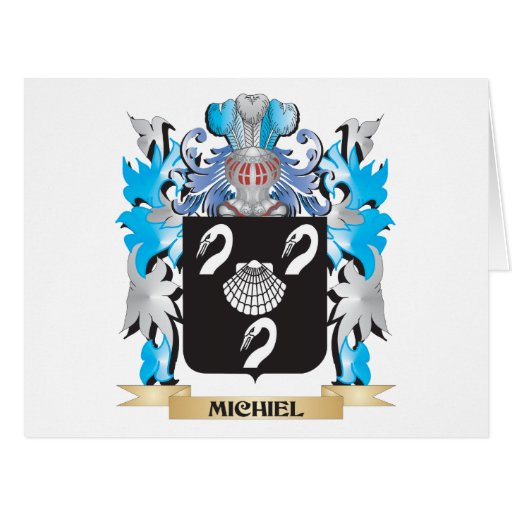 Michiel Coat of Arms - Family Crest Cards