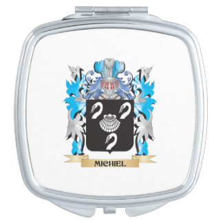 Michiel Coat of Arms - Family Crest Travel Mirror