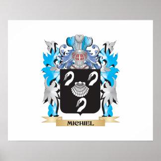 Michiel Coat of Arms - Family Crest Print