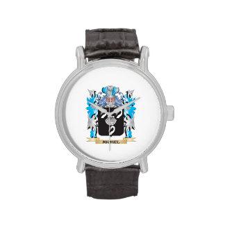Michiel Coat of Arms - Family Crest Wristwatch