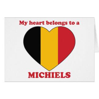 Michiels Greeting Card
