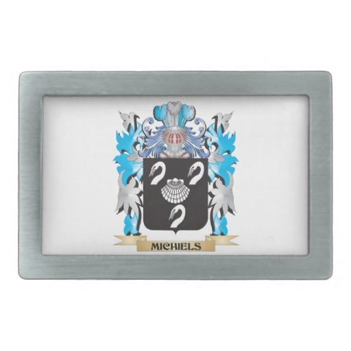Michiels Coat of Arms - Family Crest Belt Buckles