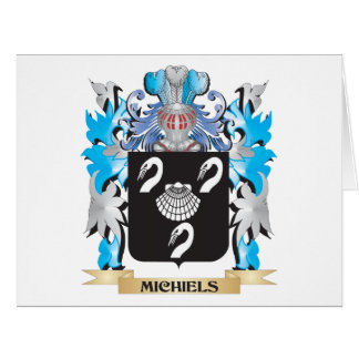 Michiels Coat of Arms - Family Crest Cards