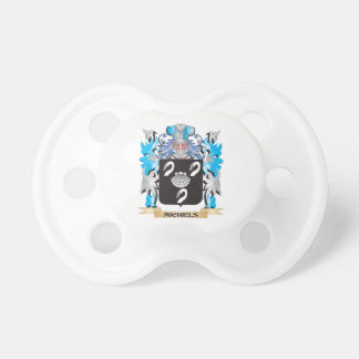 Michiels Coat of Arms - Family Crest Pacifier