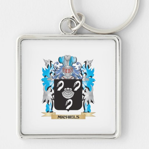 Michiels Coat of Arms - Family Crest Key Chain