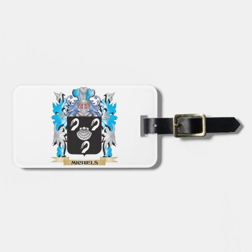 Michiels Coat of Arms - Family Crest Luggage Tag