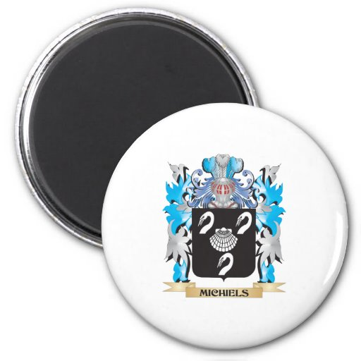 Michiels Coat of Arms - Family Crest Fridge Magnets