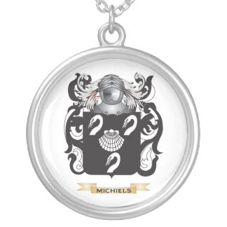 Michiels Coat of Arms (Family Crest) Necklaces