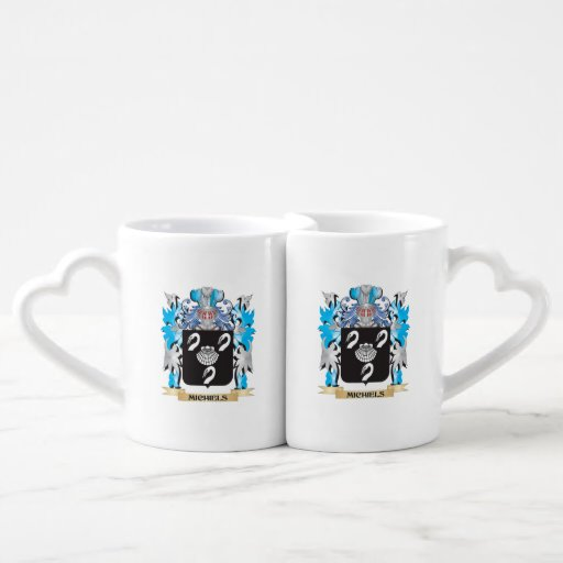 Michiels Coat of Arms - Family Crest Lovers Mug Set