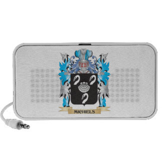 Michiels Coat of Arms - Family Crest Notebook Speaker