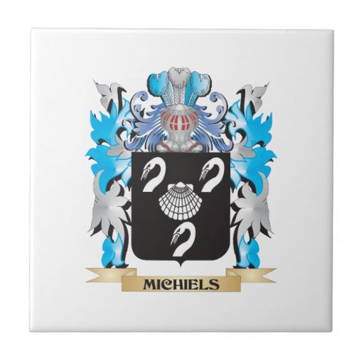 Michiels Coat of Arms - Family Crest Ceramic Tile