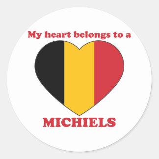 Michiels Round Stickers