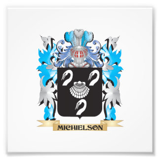 Michielson Coat of Arms - Family Crest Photo Print