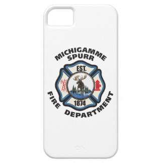 Michigamme Spurr fire Department logo phone case iPhone 5 Covers
