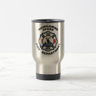 Michigamme Spurr Fire Department Stainless Mug