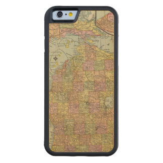 Michigan 3 carved maple iPhone 6 bumper case