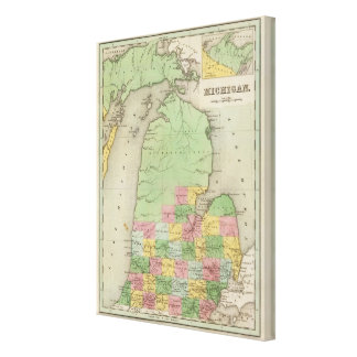 Michigan 4 canvas print