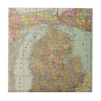 Michigan 4 small square tile