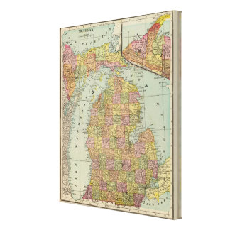 Michigan 5 canvas print