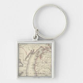 Michigan 5 key ring
